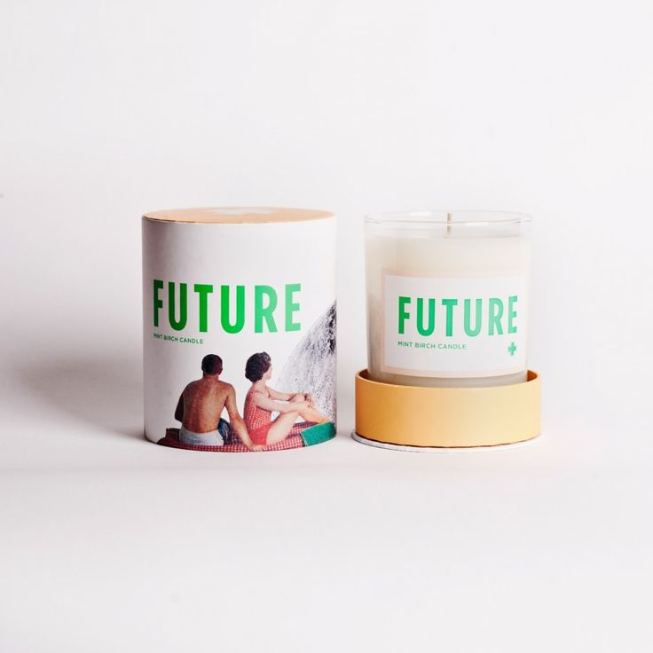 Future Candle.  There's no looking back with our Drake General Store FuturetCandles. Featuring a unisex scent of Mint + Birch, these Canadian made pieces make a perfect gift for friends – or for you!