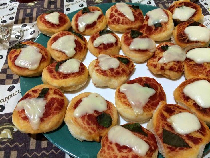Pizzette croccanti e soffici   Le ricette di petalina