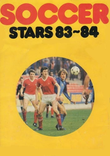 Soccer Stars '83-'84 (Rear Cover)