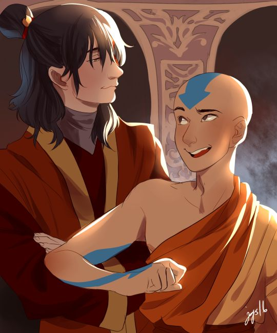 Avatar Aang With Hair: 117 Best Images About Aang + Zuko On Pinterest