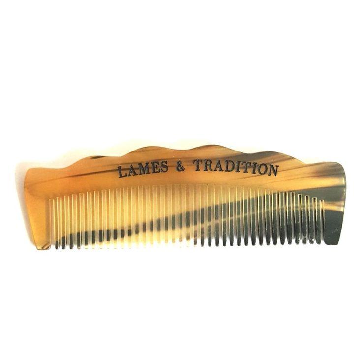 Peigne en corne pour la barbe Lames et Tradition