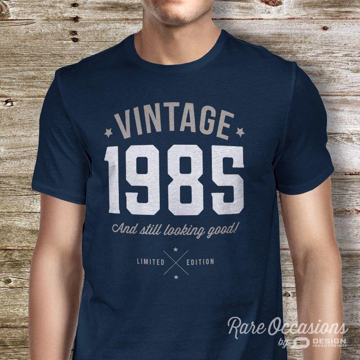 30th Birthday, 1985 Vintage, Great 30th Birthday Present, 30th Birthday Gift. 1985 Birthday, Look Good on Your 30th Birthday! by RareOccasions on Etsy https://www.etsy.com/listing/208094058/30th-birthday-1985-vintage-great-30th