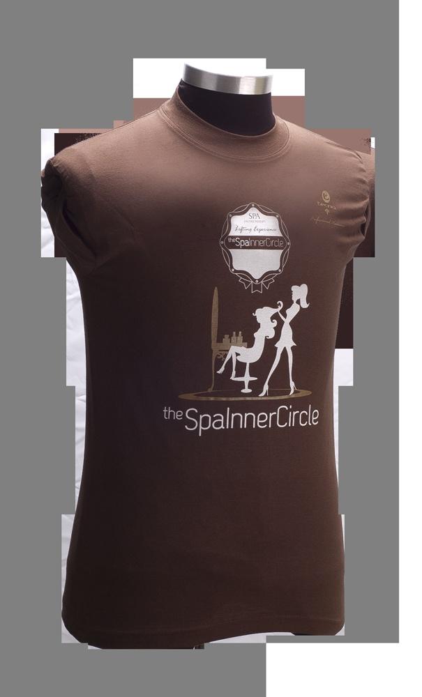 T-Shirt for SPA Inner Circle - Hair Reconstruction Certified Salons.  ----  T-Shirt per SPA Inner Circle - Saloni Certificati sulla Ricostruzione dei capelli con SPA Enzymetherapy