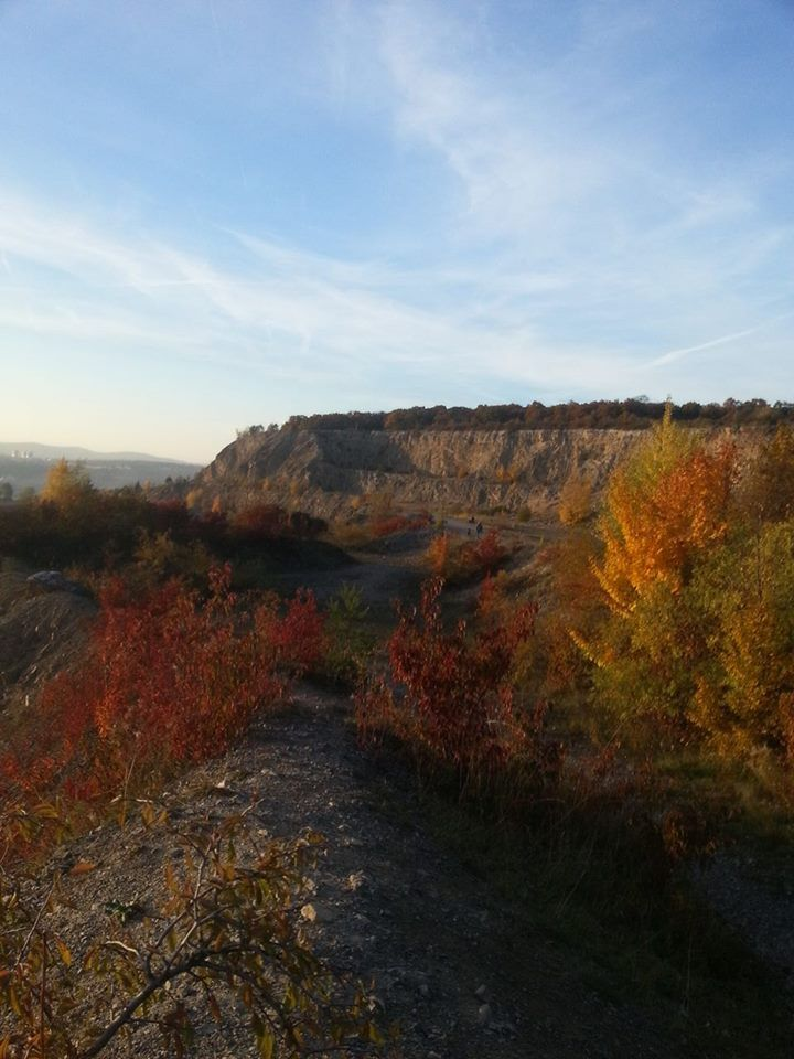 """""""Hady"""" is a protected natural area just few minutes from Brno city centre... It used to be a calcium mine..."""