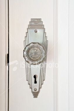 Art Deco Door Knob                                                                                                                                                      More