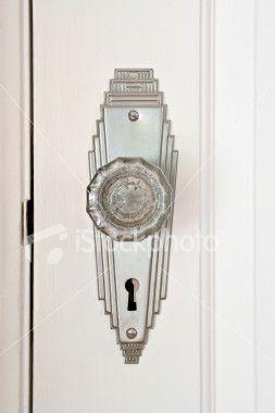 Art Deco Door Knob                                                                                                                                                      More