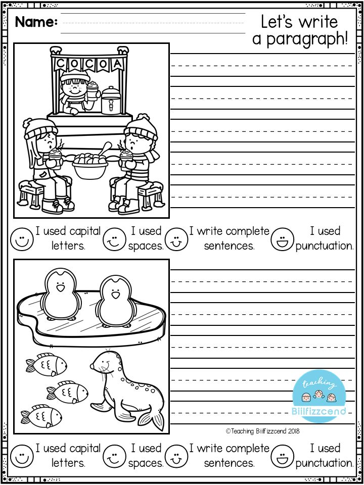 FREE First Grade Writing Activities | First grade writing ...