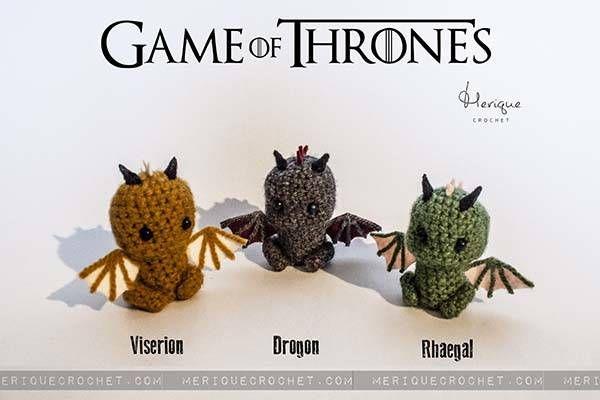 Game of Thrones Inspired Amigurumi Dolls