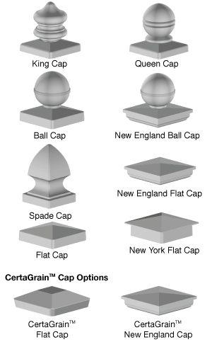 Best Newel Post Cap Options … Newel Post Caps Handrail 400 x 300