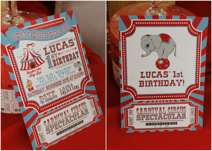 Real Parties Vintage Carnival Inspired 1st Birthday