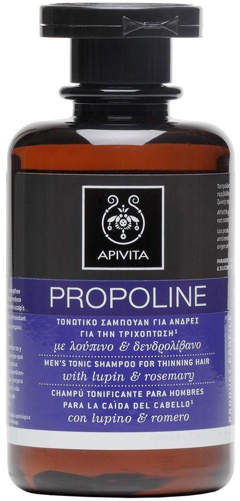 Apivita Propoline Τονωτικό Σαμπουάν Για Άνδρες Για Την Τριχόπτωση Με Δεντρολίβανο & Λούπινο 250ml. Μάθετε περισσότερα ΕΔΩ: https://www.pharm24.gr/index.php?main_page=product_info&products_id=3657