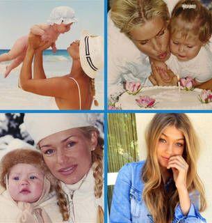 Yolanda Foster Shares Adorable Baby Photos of Daughter Gigi Hadid!