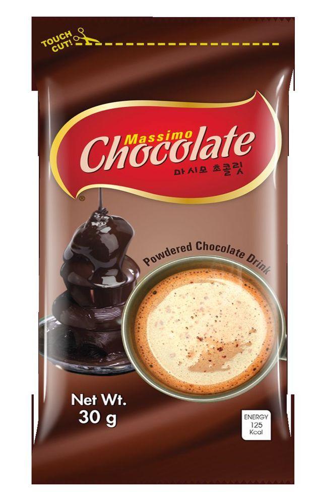 CNF Korea Massimo Chocolate Powdered Chocolate Drink 30g #CNFKorea