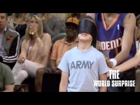 U.S Soldier Surprises His Son During Suns Game