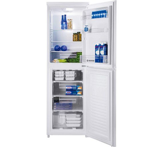 Buy Hoover HVBS5162WK Tall Fridge Freezer - White at Argos.co.uk, visit Argos.co.uk to shop online for Fridge freezers, Large kitchen appliances, Home and garden