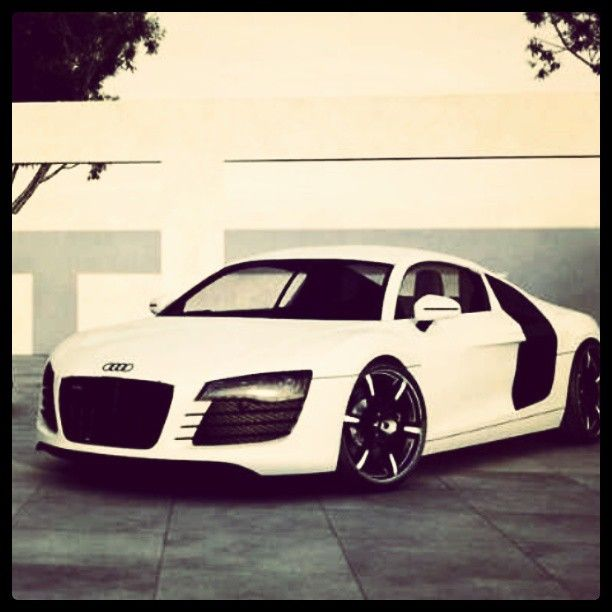 Angelic Audi R8! white dream!