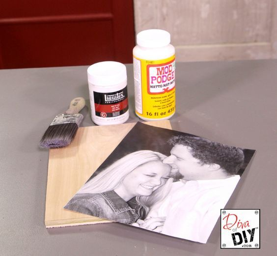 Transfer Photos To Wood With Ease - DIY Blog|Diva of DIY