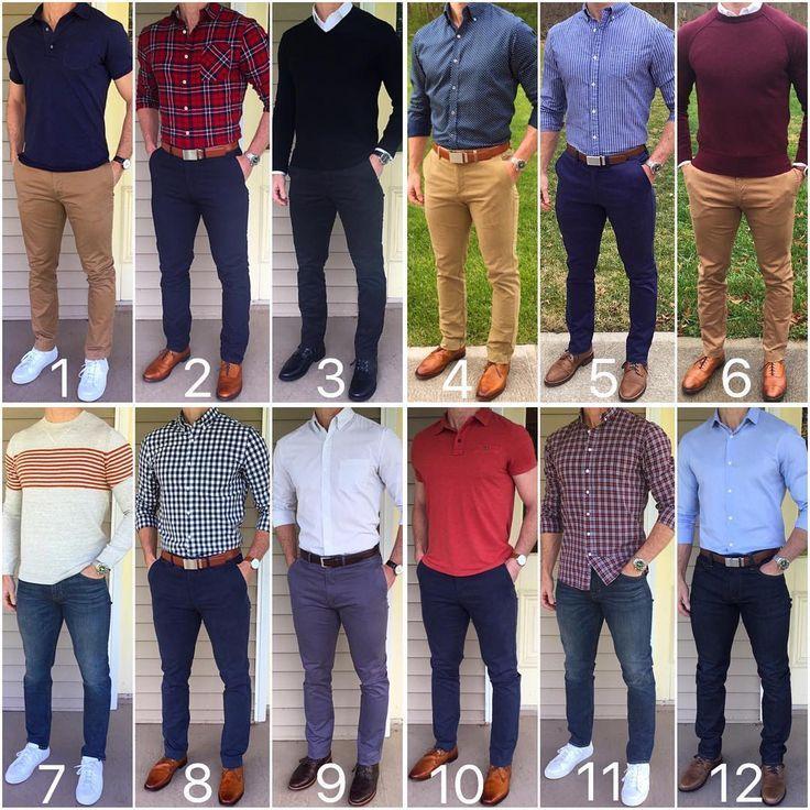 Combinations clothes mens dress color The Perfect