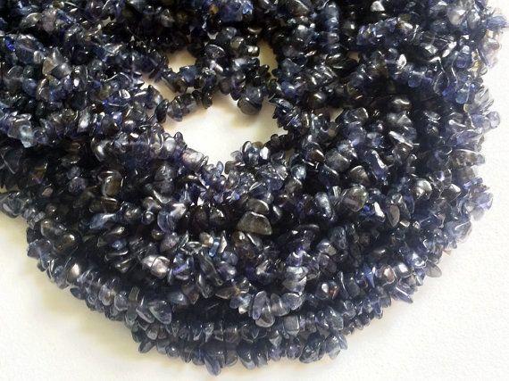 WHOLESALE 5 Strands Iolite Chips Iolite Beads by gemsforjewels