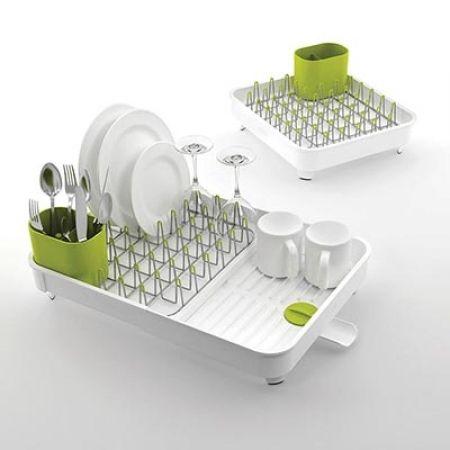 Howards Storage World | Joseph Joseph Expandable Dish Rack White