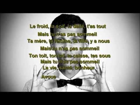 Stromae-sommeil (lyrics) - YouTube