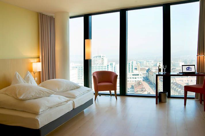 Komfort Hotelzimmer im Hyperion Hotel Basel