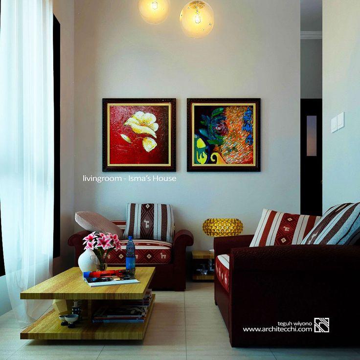 #Arsitek #DesainInterior #RuangTamu #Livingroom #Architecchi