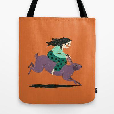 Hop Tote Bag by Sanni La - $22.00