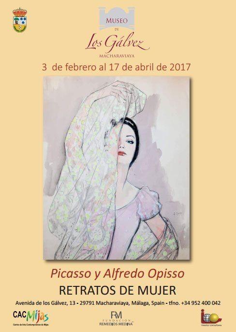 Picasso y Alfredo Opisso, retratos de mujer.
