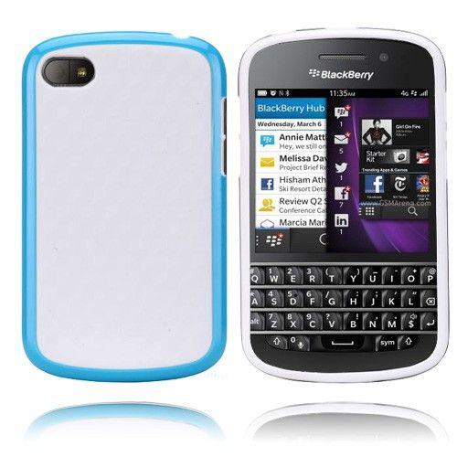EdgeWhite (Sininen) BlackBerry Q10 Suojakuori
