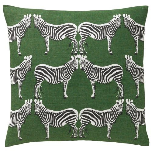 Dwell Studio Zebra pillow
