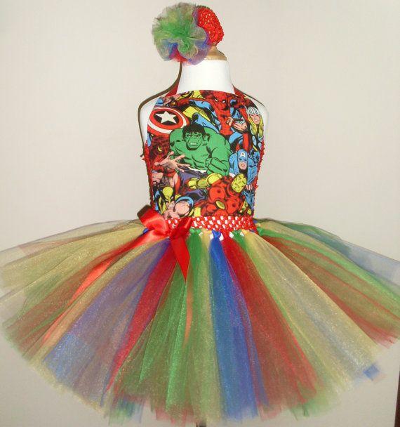 Marvel Comics Tutu Dress