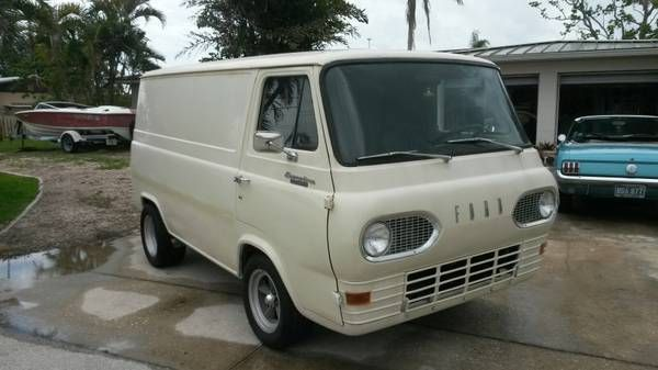 1964 Econoline Panel Van No Door Vintage Vans Ford Van Cool Vans