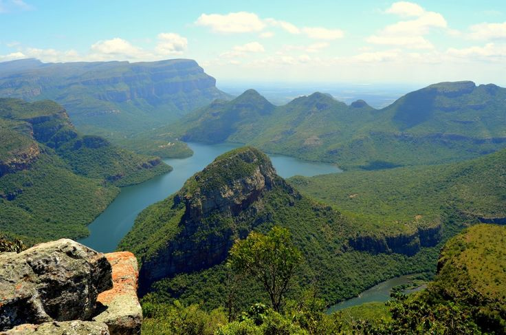 Blyde River Canyon by Rosemary Hall