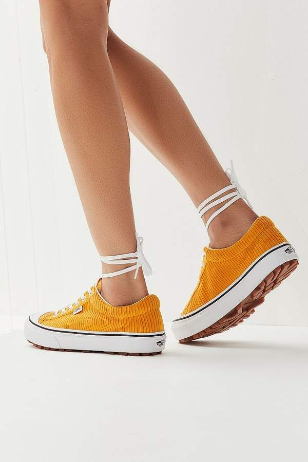 Vans Anaheim Factory Style 29 Corduroy Sneaker #yellow