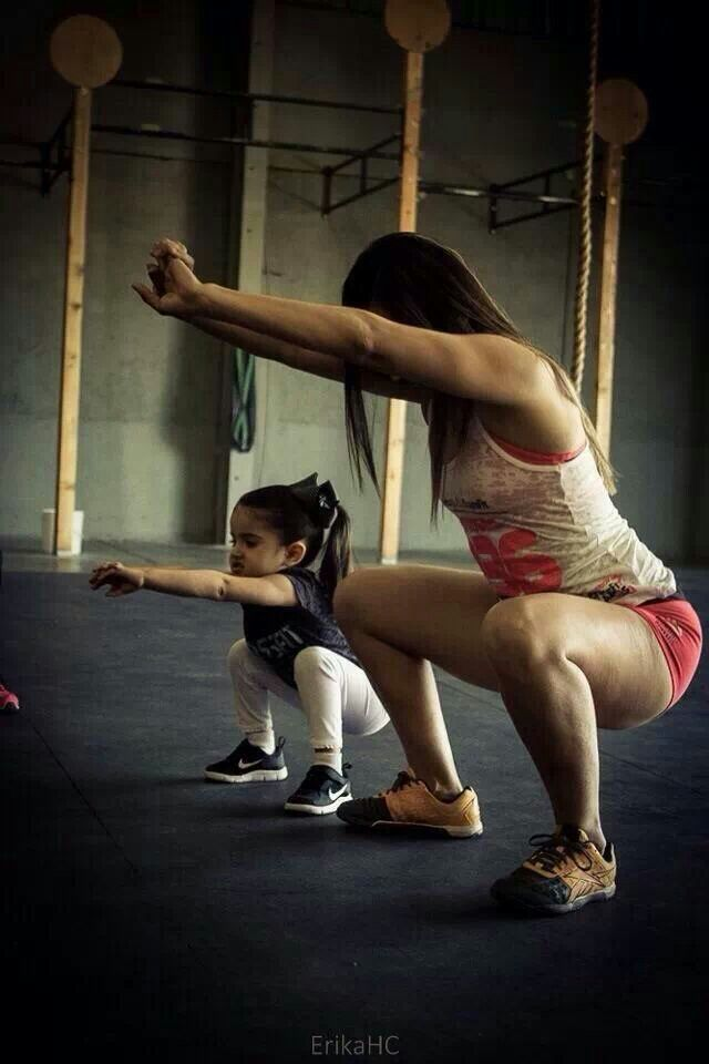 """Every woman should remember that one day her sweet daughter will follow her example instead of her advice"" David acosta crossfit mexicali mexico"
