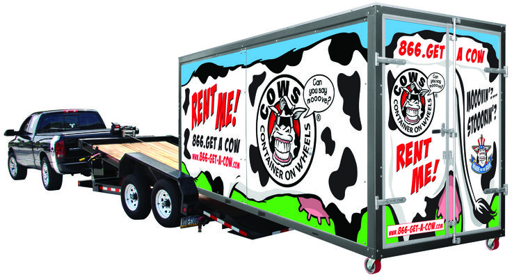 Cows Photos profile - COWs - Container On Wheels Mobile Storage