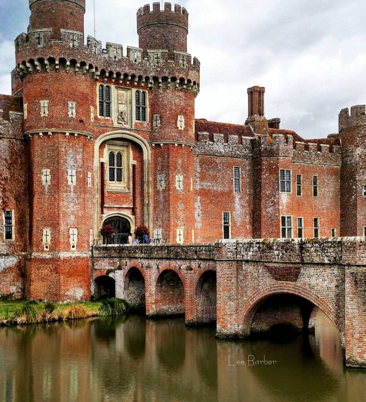 Herstmonceux Castle, East Sussex, England by Elena Rumianceva