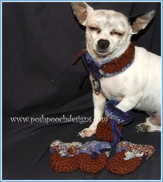 Dog Bootie Crochet Pattern for those  Little Paws.      Many Friends , Family and Customers   have been asking for Dog Booties or   dog ...