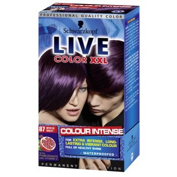 Schwarzkopf Live Color XXL - Mystic Violet (87) £5.49 (FREE UK Delivery) http://www.123hairandbeauty.co.uk/hair-products-c1/colour-c9/schwarzkopf-live-color-xxl-mystic-violet-87-p908