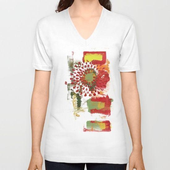 Red Spray Flower by Bestree Art Designs, $24. https://society6.com/product/red-spray-flower_vneck-tshirt#37=299&39=329&38=310