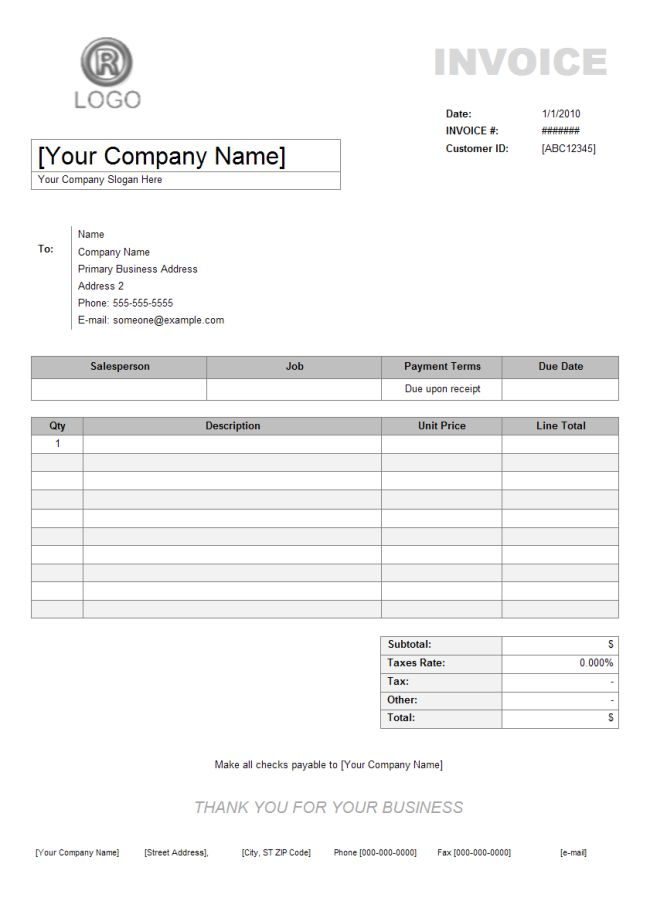 The 25+ best Invoice example ideas on Pinterest Invoice layout - services rendered invoice