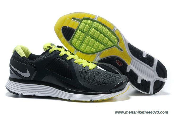Comfortable 200121 Nike Lunar Eclipse Men Black Green Shoes