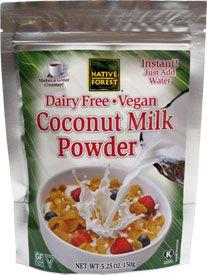 Dairy-Free Vegan Coconut Milk Powder by Native Forest – VeganEssentials Online Store
