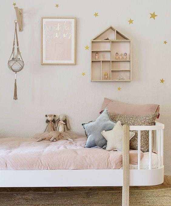 Habitacion Infantil De Nia Simple Amazing Affordable Dormitorio - Habitacion-infantil-de-nia