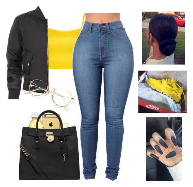 Beyoncé - XO by aaliyahsrael on Polyvore featuring polyvore WearAll Michael Kors Goldgenie Carmex fashion style clothing