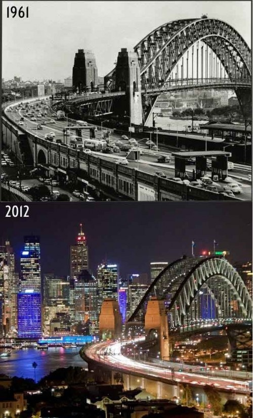 Sydney: 51 years of difference!