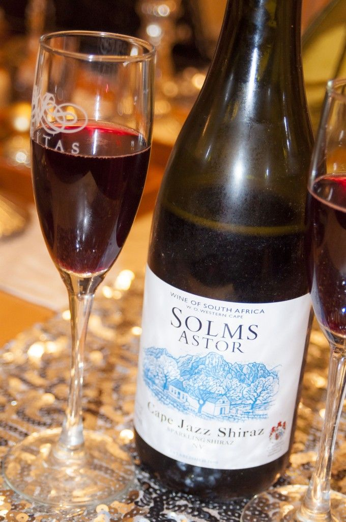 Sparkling Wine: Solms Delta Cape Jazz Shiraz