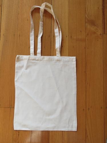 Calico Tote Bag with Long Handles $1.49