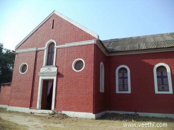 Prayer Hall St. Paul's Church, Meerut